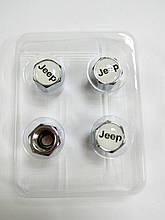 Металлические колпачки на ниппеля JEEP