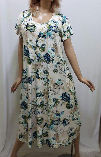 Платье большого размера с карманами вискоза , от 52 до 60 р-ра, Харьков