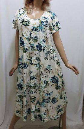 Платье большого размера с карманами вискоза , от 52 до 60 р-ра, Харьков, фото 2
