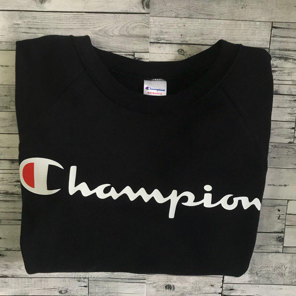 Свитшот женский с принтом Champion Хит продаж |