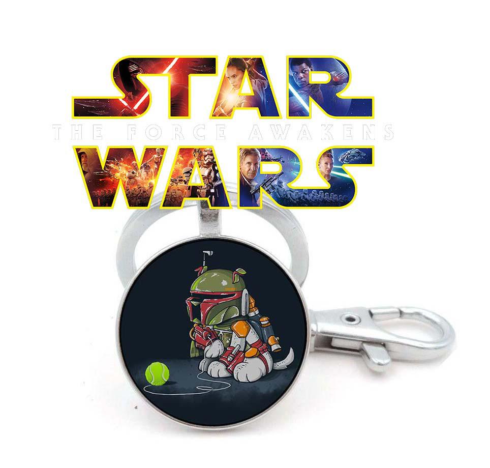 Брелок Star Wars Звездные войны Боба Фетт