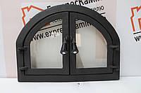 Дверцы для камина печи барбекю 570x430ММ Дверцы печные