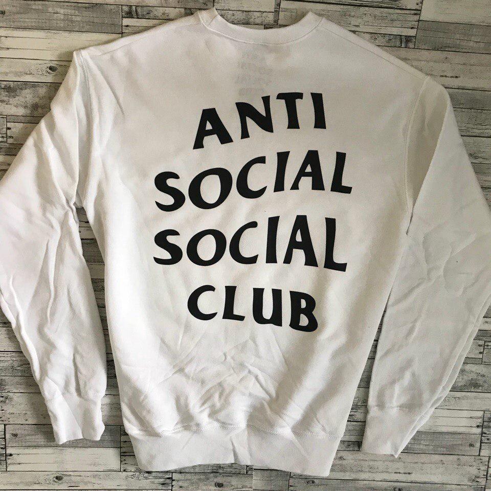 Свитшот A.S.S.C. Anti Social social club Женский | Качественная реплика