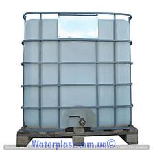 Емкость квадратная в металлическом каркасе 1000 л