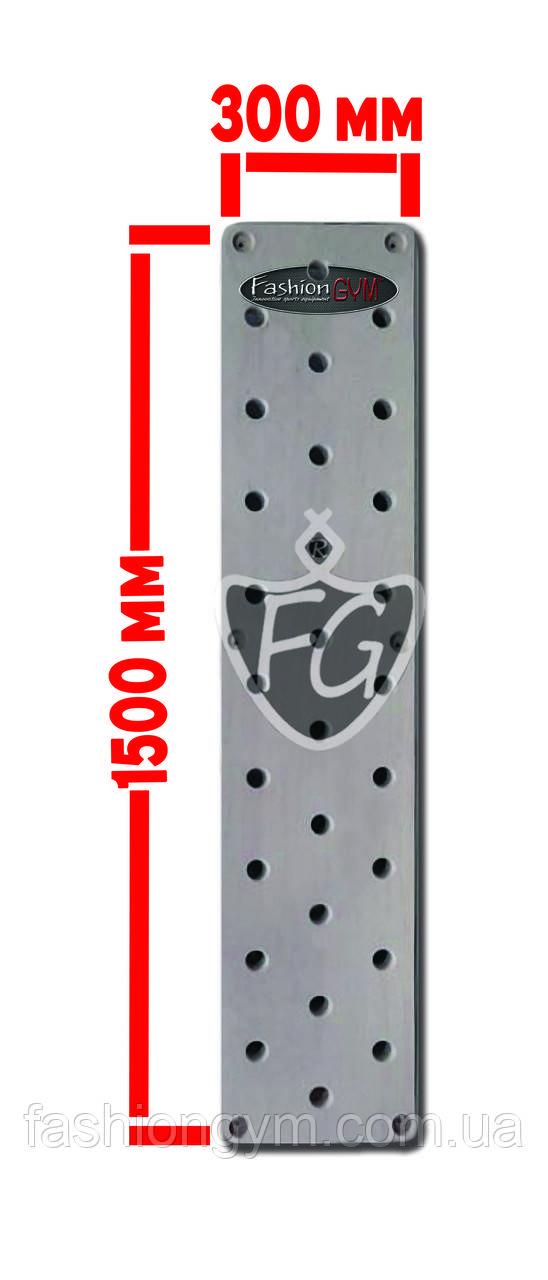 Пегборд. Доска для лазанья (Peg Board) 1500*300*40 KFG-025