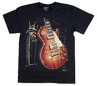 Футболка Gibson Les Paul (светится в темноте), Размер L