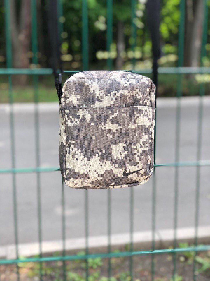 Камуфляжная сумка мессенджер найк, барсетка Nike