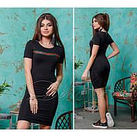 Платье женское стильное в стиле гуччи Лампас 303