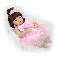 Кукла реборн Alya винил-силикон Reborn Doll  55 см. (1400), фото 1