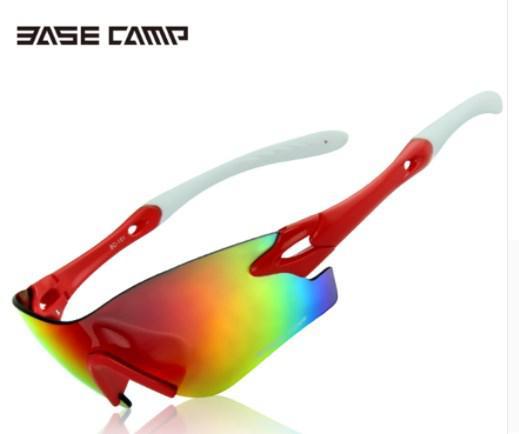 Окуляри BASECAMP BC101 для спорту риболовлі водіння, червоні