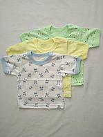 Дитяча футболка з коротким рукавом кулір