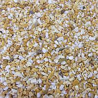 Мраморная крошка желтая Сиена 1-3 мм