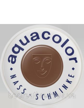 Коричневый аквагрим AQUACOLOR 30мл(оттенок 11 w)