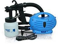 Электрический краскопульт Paint Zoom пейнт зум краскораспылитель электрический п5