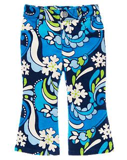 Яскраво сині вельветові штани (Розмір 12-18) Gymborеe (США)