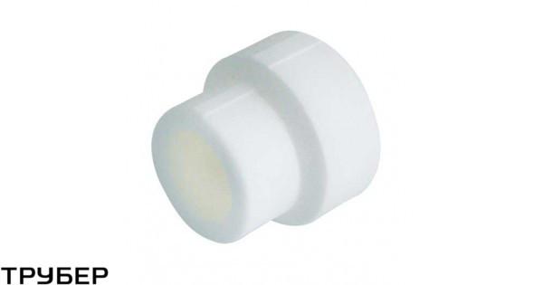Муфта редукция 40*20 внутренняя полипропилен KALDE (белое)