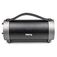 Колонки портативные 2.0 Dialog Progressive AP-930 RMS 12W, Bluetooth, FM, USB, SD, чёрный, фото 4