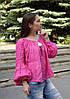 """Вишита блуза жіноча натуральний льон """"Фантазія"""" розміри в наявності"""