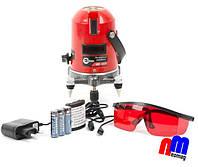 Уровень лазерный  INTERTOOL MT-3009 ♦Li-ion аккумулятор 1800мАч+2 головки♦