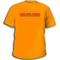 "Футболки антибренд ""Second hand"""