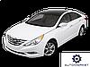 Усилитель (шина) бампера заднего Hyundai Sonata 2010-2014 (YF)