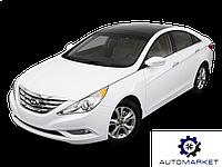 Усилитель (шина) бампера заднего Hyundai Sonata 2010-2014 (YF), фото 1
