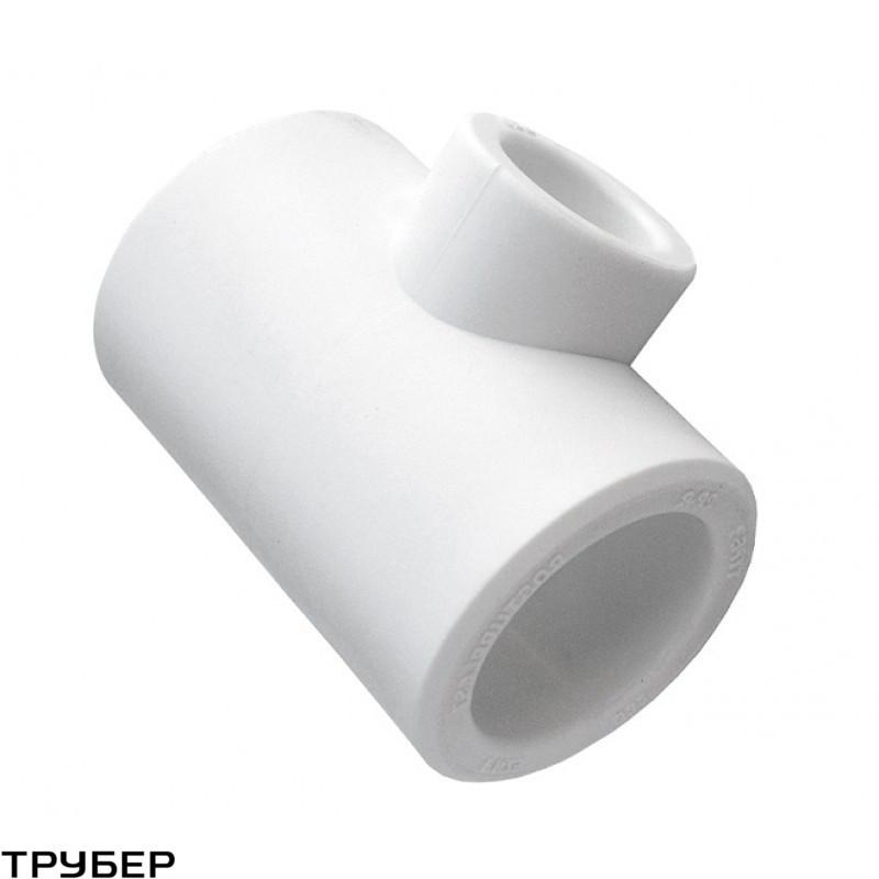 Тройник редукционный 63*20*63 полипропилен KALDE (белое)