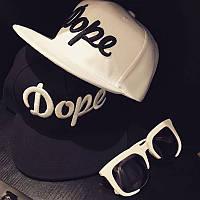 Кепка снепбек Dope с прямым козырьком, Унисекс, фото 1