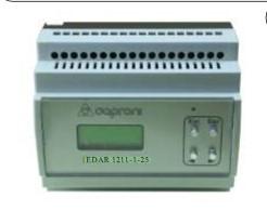 Цифровой усилитель Caproni для пропорционых клапанов EDAR1211-1-25