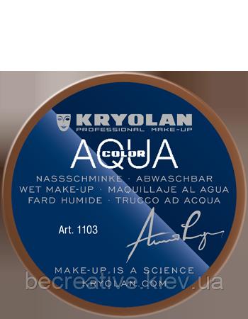 Коричневый аквагрим AQUACOLOR 55мл(оттенок 12 w)