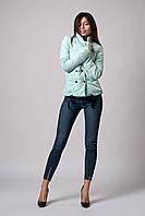 Женская молодежная демисезонная куртка. Размер 42 Цвет мята.