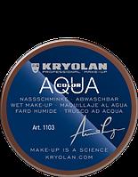 Коричневый  аквагрим AQUACOLOR 55мл(оттенок NG 1)