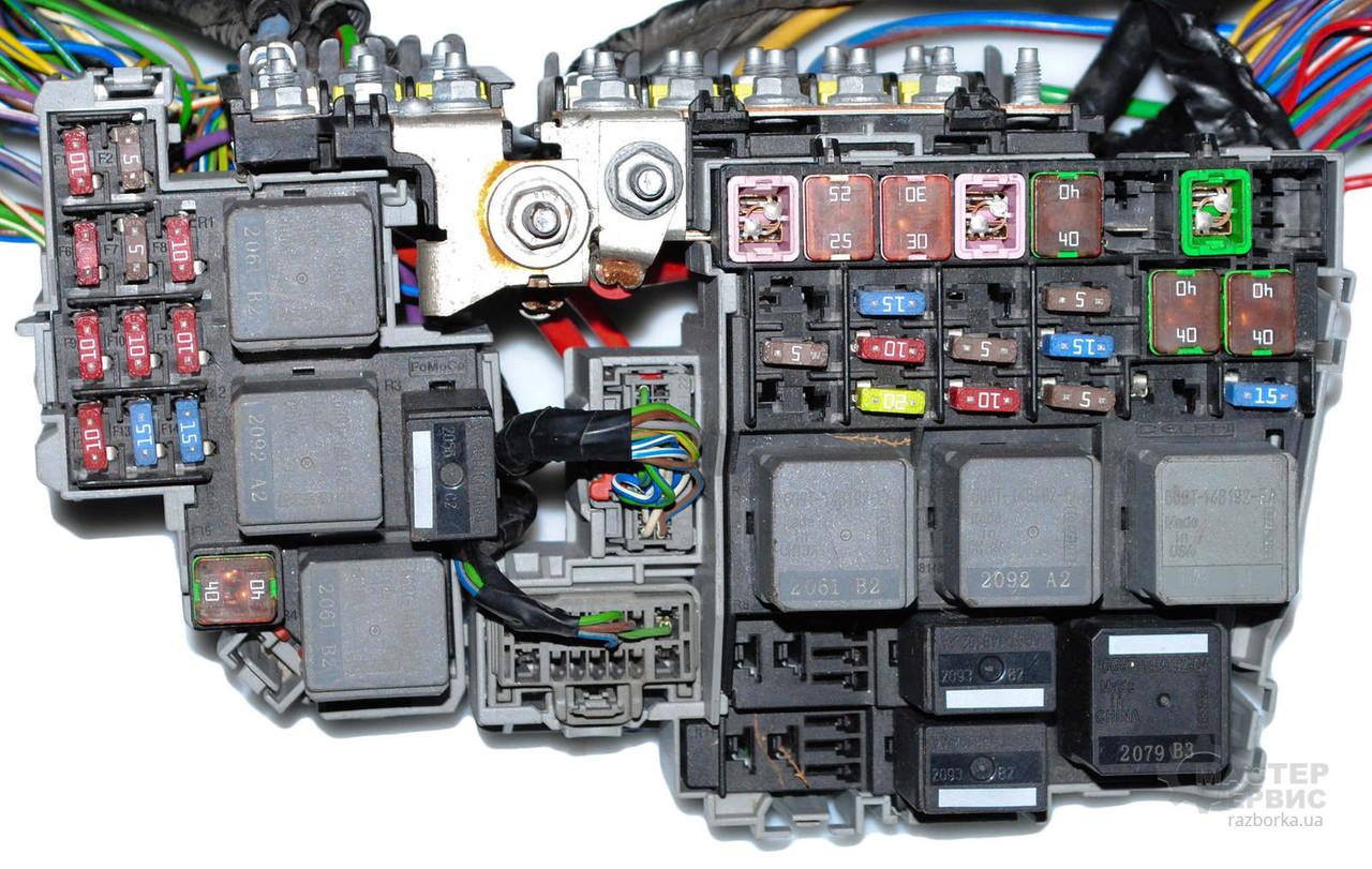 ford s max электроника блок предохранителей