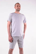 Мужской костюм  для лета футболка + шорты размеры 48-54