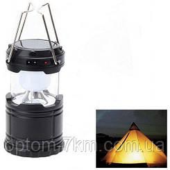 Фонарь - лампа на солнечной батарее G-85 Rechargeable Camping Lantern (кемпинговый фонарь G85) am