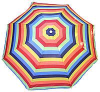 Пляжный зонт от солнца 2.2 м с наклоном, фото 1