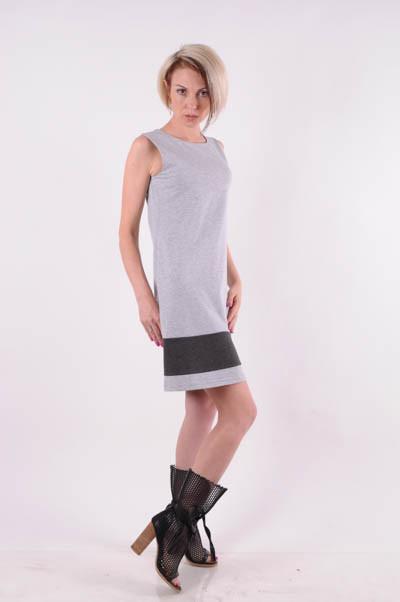 Платье-сарафан женский трикотажный  размеры 40 -46