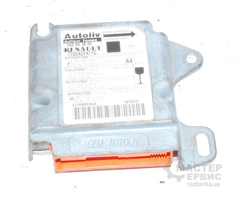 Блок управления AIRBAG для Renault Scenic RX4 2000-2003 7700437471C