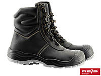 Зимние кожаные ботинки REIS BCW