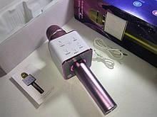 Микрофон караоке Q7 (Bluetooth, USB, MP3, AUX)