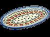 Блюдо сервировочное плоское овальное маленькое Crabapple