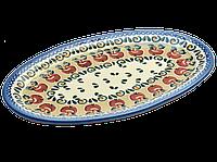 Блюдо сервировочное плоское овальное маленькое Crabapple, фото 1
