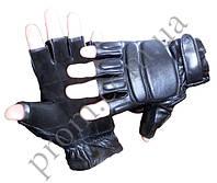 Перчатки тактические 'Спецназ' кожа