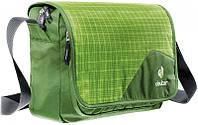 Сумка городская для документов и планшета, на плечо ATTEND DEUTER, 85043 зеленый, розовый