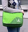 Сумка городская для документов и планшета, на плечо ATTEND DEUTER, 85043 зеленый, розовый, фото 3