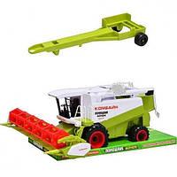 Комбайн инерционный ZZ Toys M 1106 U/R HN