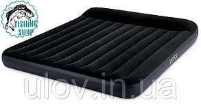 Матрас двуспальный надувной Intex 66770 (183х203х30 см.)
