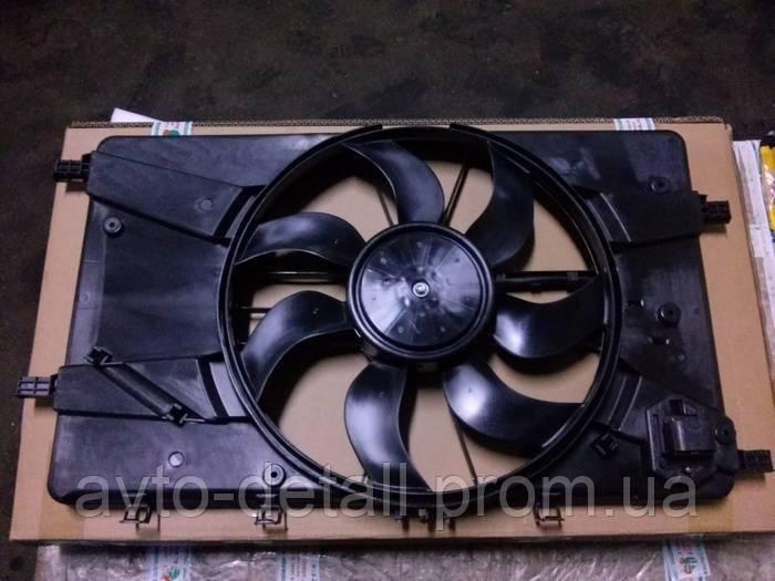 Вентилятор радиатора Авео T300 основной (GM) 94541257