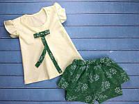 """Летний костюм на девочку  """"Summer"""" 1. Размер 26 (86см), 104 см, фото 1"""
