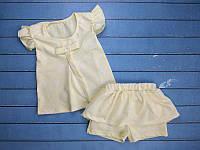 """Летний костюм на девочку """"Summer""""  2. Размер 26 (86см), 28 (98см), 30 (110см), 32 (116см)"""